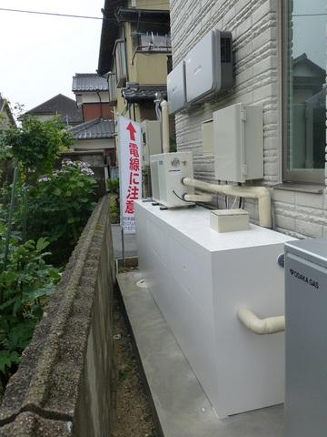 屋外型濾過槽
